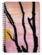 Pink - Sunrise Drawing Spiral Notebook