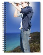 Pirate With Spyglass Spiral Notebook