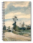 Pissarro Louveciennes Spiral Notebook