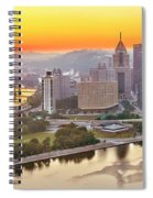 Pittsburgh Sunrise Panorama Spiral Notebook