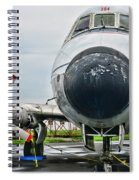 Plane Noses Up Spiral Notebook