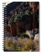 Plants On Landscape, Anza Borrego Spiral Notebook