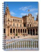 Plaza De Espana In Seville Spiral Notebook