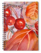 Plump And Juicy Spiral Notebook