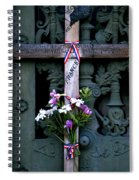 The French Cross Spiral Notebook
