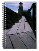 Point Conception Lighthouse Spiral Notebook