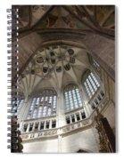 pointed vault of Saint Barbara church Spiral Notebook