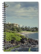 Polo Beach Wailea Point Maui Hawaii Spiral Notebook