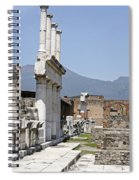 Pompeii Spiral Notebook