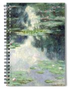 Pond With Water Lilies Spiral Notebook