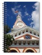Pontiac Illinois - Courthouse Spiral Notebook