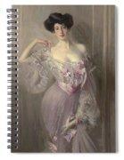 Portrait Of Ena Wertheimer Spiral Notebook