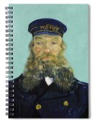 Portrait Of Postman Roulin Spiral Notebook