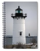 Portsmouth Harbor Light Spiral Notebook