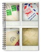 Postal Still Life Spiral Notebook