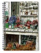 Potting Bench Spiral Notebook