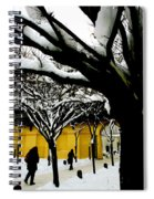 Prague Winter  Spiral Notebook