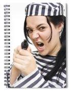Prison Breakout Spiral Notebook
