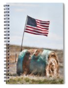 Proud To Be An American Spiral Notebook