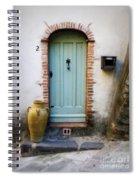 Provence Door Number 2 Spiral Notebook