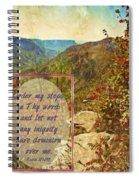 Psalm 119 133 Spiral Notebook