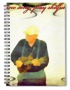 Psalm 33 3 Spiral Notebook