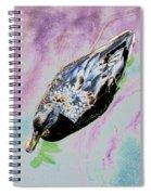 Psychedelic Mallard Duck 2 Spiral Notebook