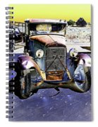 Psychedelic Old Pickup Truck 2 Spiral Notebook