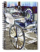 Psychedelic Old Surrey 1 Spiral Notebook