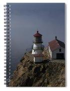 Pt Reyes Lighthouse Spiral Notebook