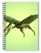 Pterodactyl, Cretaceous Dinosaur Spiral Notebook