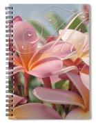 Pua Melia Ke Aloha Maui Spiral Notebook