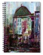 Purple City Spiral Notebook