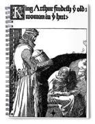 Pyle King Arthur Spiral Notebook