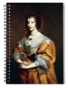 Queen Henrietta Maria Spiral Notebook