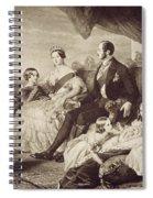 Queen Victoria & Family Spiral Notebook