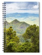 Queensland Rainforest Spiral Notebook