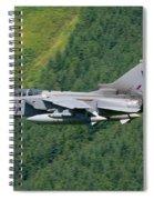 Raf Tornado - Low Level Spiral Notebook