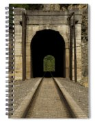 Railroad Tunnel 3 Bnsf 1 B Spiral Notebook