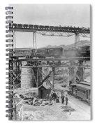 Railroading Construction Spiral Notebook
