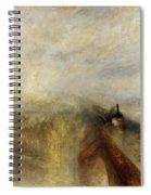 Rain Steam And Speed Spiral Notebook