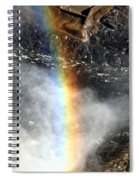 Rainbow And Falls Spiral Notebook