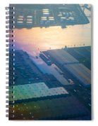 Rainbow Earth 3. Somewhere Over Netherlands Spiral Notebook