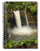 Rainbow Falls Spiral Notebook