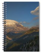 Rainier Capped Spiral Notebook
