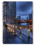 Ramble Along The River Spiral Notebook