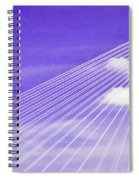 Ravenel Bridge # 2 Spiral Notebook