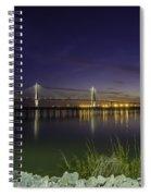 Rocky Shore In Charleston Sc Spiral Notebook
