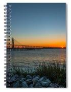 Charleston Sundown Spiral Notebook