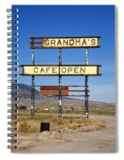 Rawlins Wyoming - Grandma's Cafe Spiral Notebook